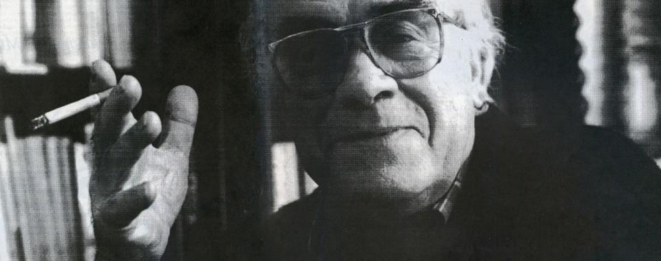 António Cabral (2001). Foto de Pedro Colaço para a revista Eito Fora.