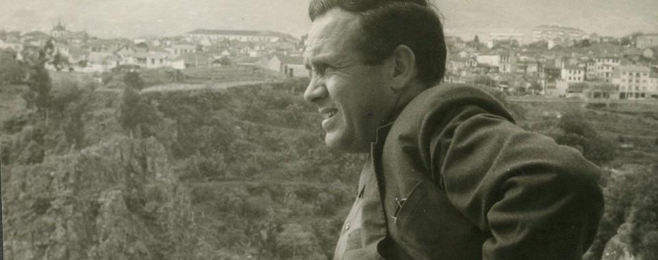 António Cabral em Vila Real (anos 1970)